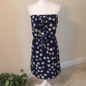 Banana Republic strapless dress with